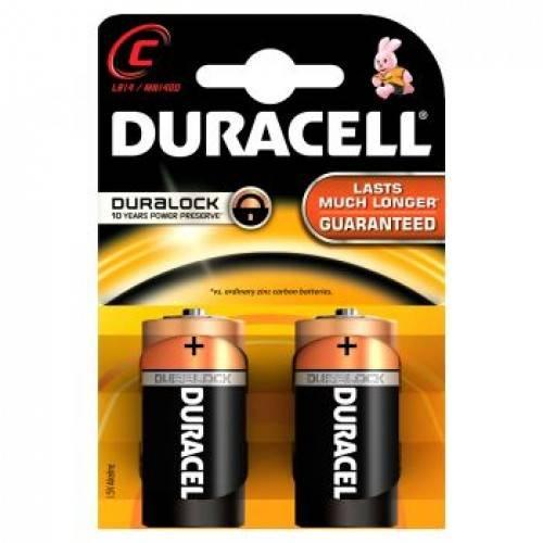Baterii alcaline baby C R14 Duracell Simply - Baterii  -