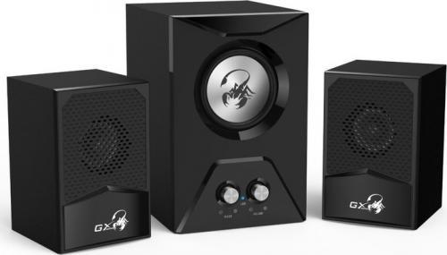 Boxe gaming Genius 21 SW-G21 500 15W negru - Audio video - Boxe cu fir