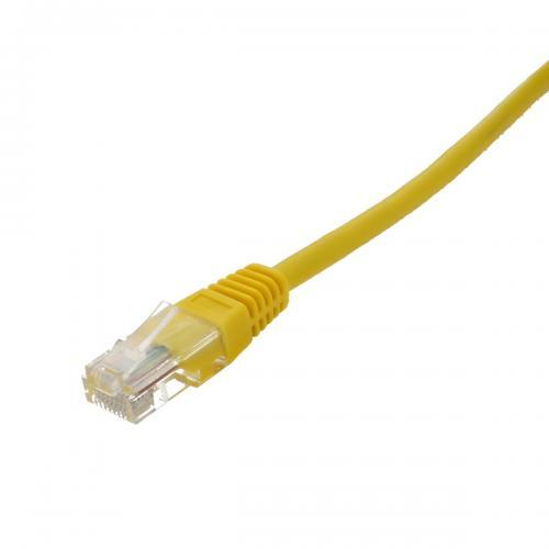Cablu UTP Well cat5e patch cord 15m galben - Conectica -